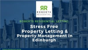 Stress free property letting and property management presentation